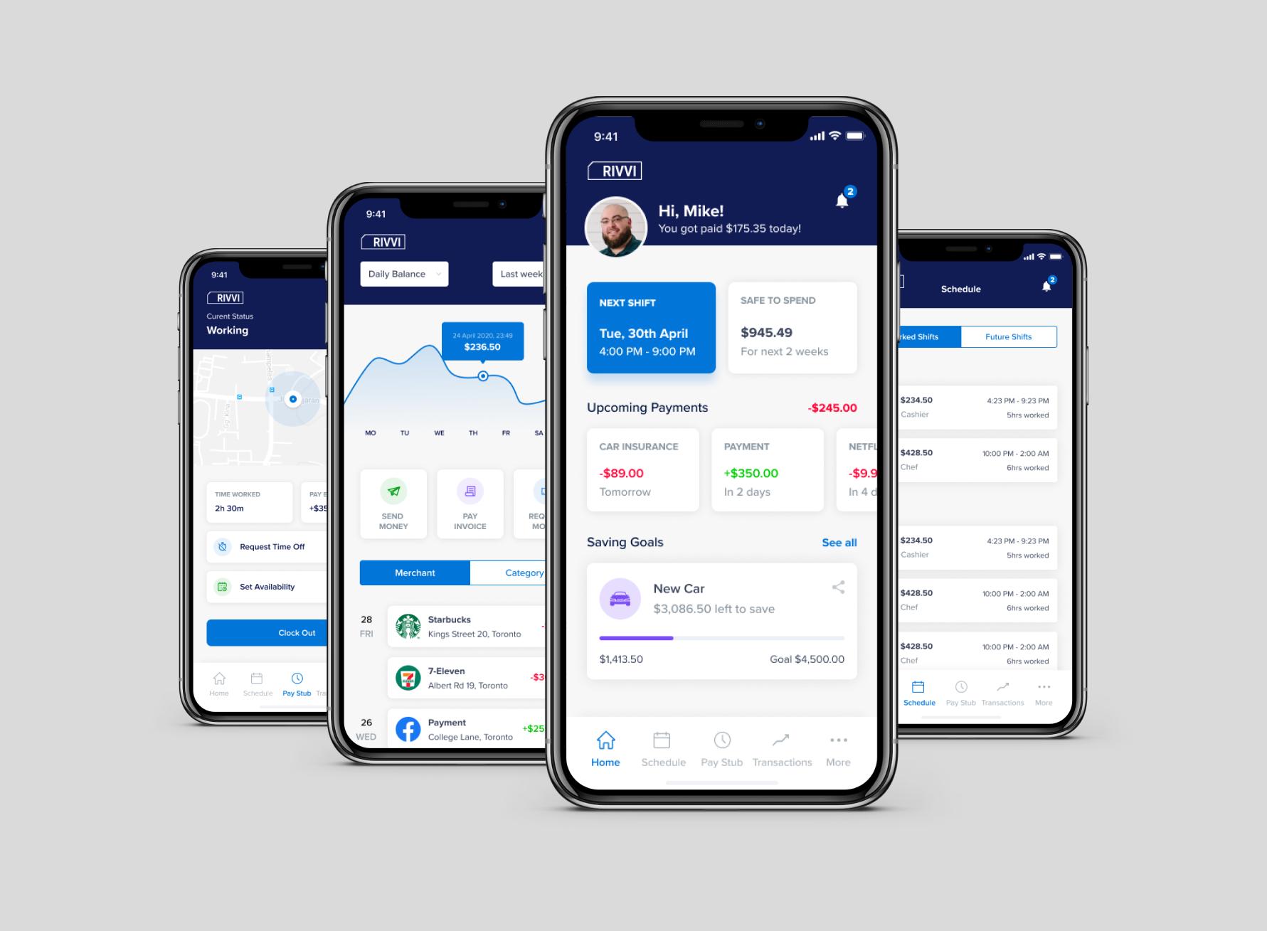 Rivvi Employee App